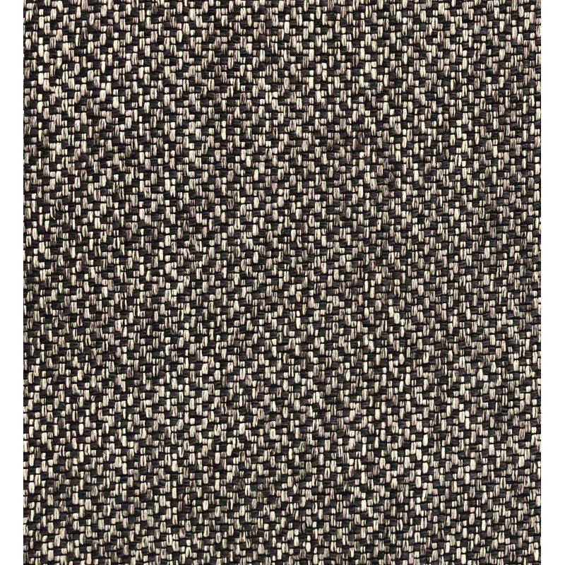 """Plutus Brands Salt and Pepper Luxury Throw Pillow in Grey and Black Tones Pillows 24"""" x 24"""" (PBRA1406-2424-DP)"""