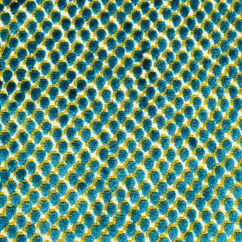 "Plutus Brands Sea Green Iota Turquoise Luxury Throw Pillow 20"" x 26"" Standard (PBKR1910-2026-DP)"