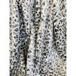 "Plutus Brands Snow Leopard Faux Fur Gray Luxury Throw 60""W x 96""L (PBEZ1665-6096-TC)"