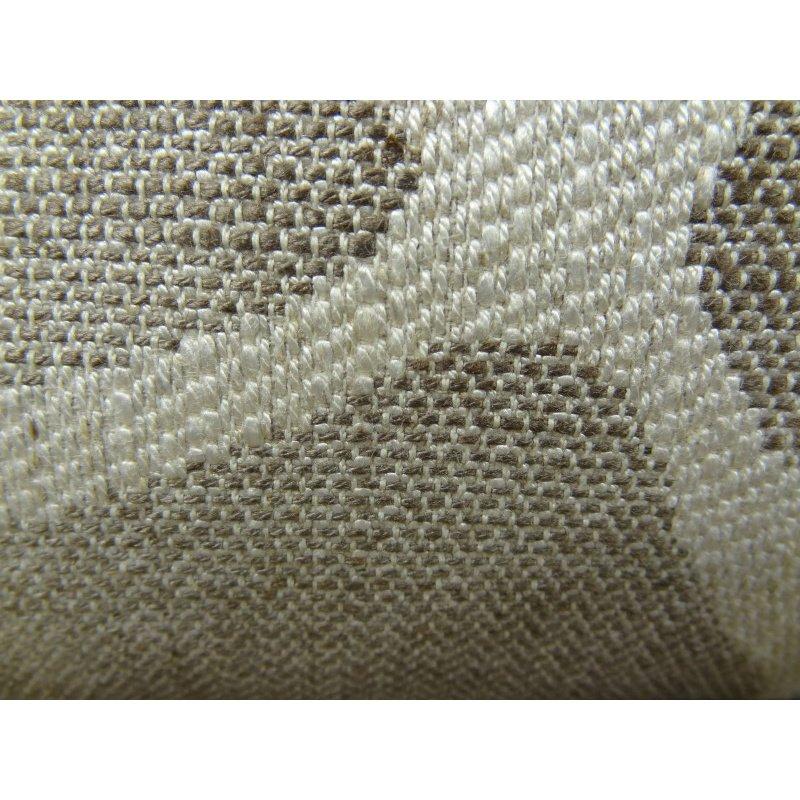 """Plutus Brands Soft Giraffe Gray and White Handmade Luxury Pillow 18"""" x 18"""" (PBRAZ197-1818-DP)"""