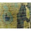 "Plutus Brands Sonoma Canyon Green Navy and Blue Handmade Luxury Pillow 20"" x 20"" (PBRAZ368-2020-DP)"