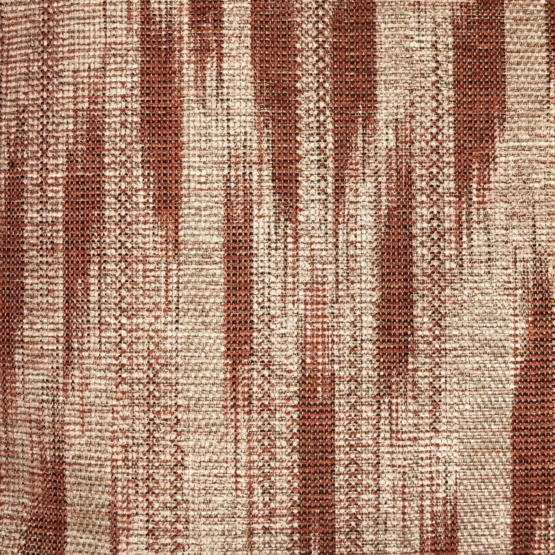 "Plutus Brands Stormy Pine Orange and Beige Luxury Throw Pillow 22"" x 22"" (PBRA2300-2222-DP)"