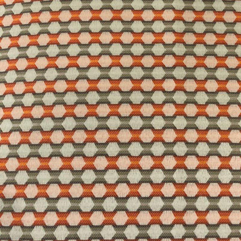 "Plutus Brands Sunny Cave Orange and Beige Luxury Throw Pillow 20"" x 26"" Standard (PBRA2299-2026-DP)"