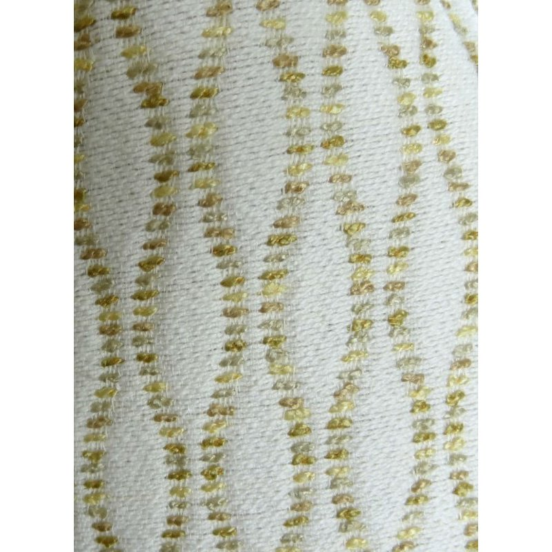 "Plutus Brands Swan Creek Cream and Gold Handmade Luxury Pillow 20"" x 30"" Queen (PBRAZ305-2030-DP)"
