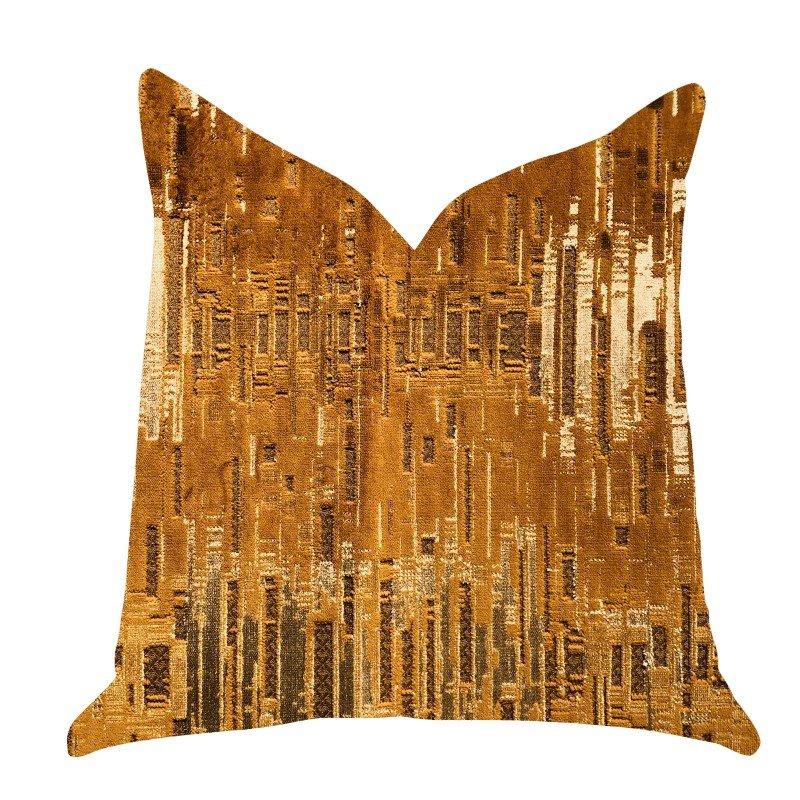 "Plutus Brands Thames City Lights Luxury Throw Pillow 16"" x 16"" (PBRA1400-1616-DP)"