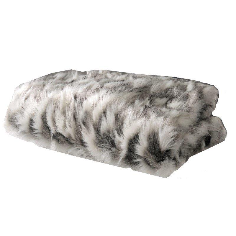 "Plutus Brands Tibet Faux Fox Handmade Luxury Throw 60""W x 84""L (PBSF1405-6084-TC)"
