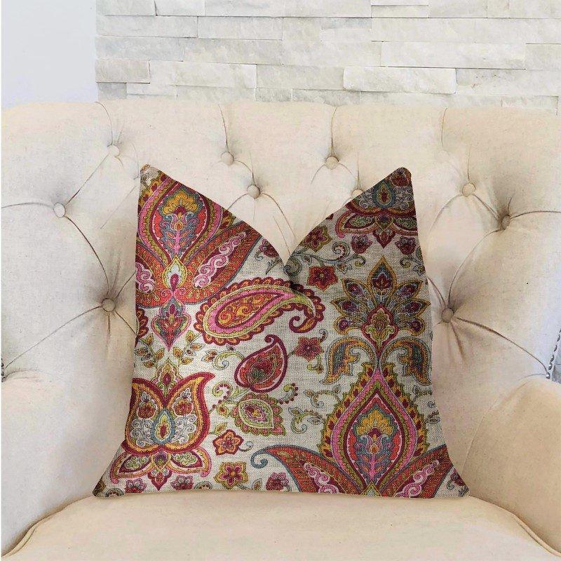 "Plutus Brands Tulip Safari Luxury Throw Pillow 20"" x 36"" King (PBRA2283-2036-DP)"