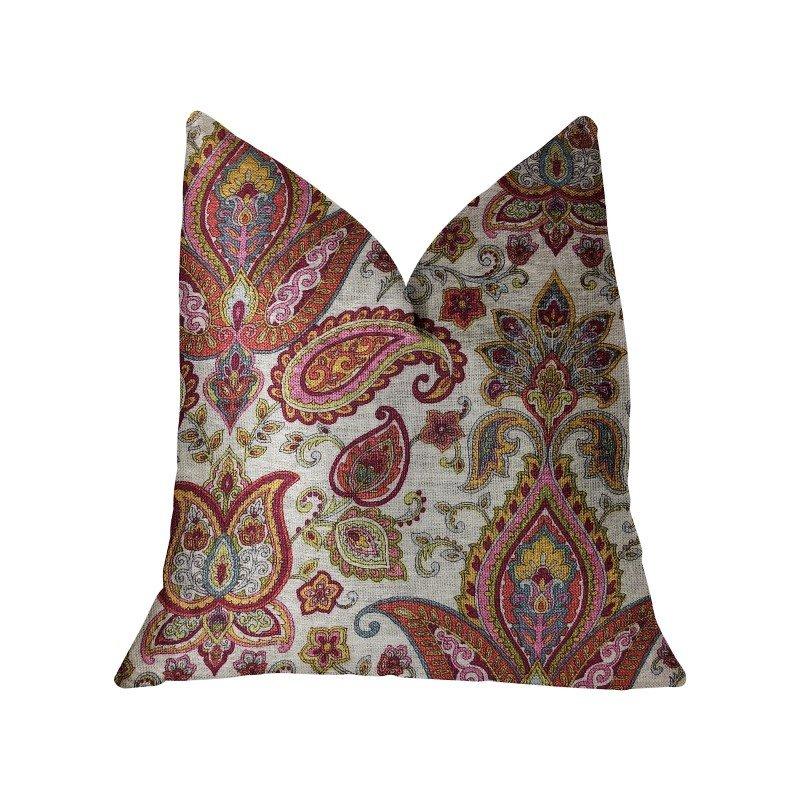 "Plutus Brands Tulip Safari Luxury Throw Pillow 22"" x 22"" (PBRA2283-2222-DP)"
