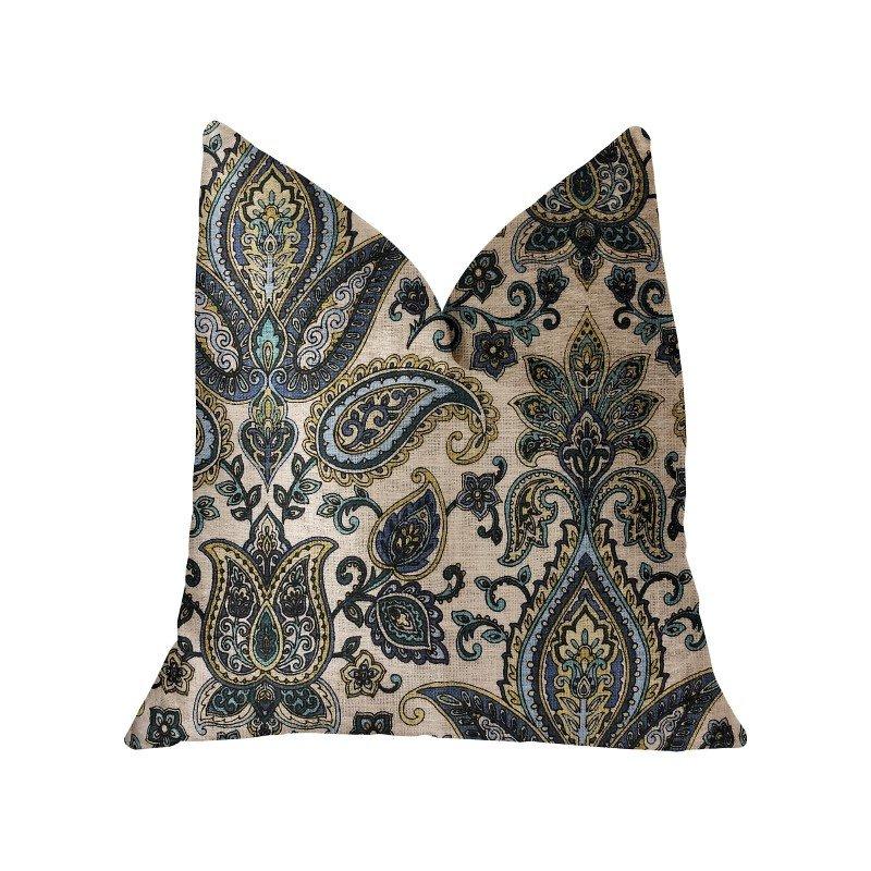 "Plutus Brands Tulip Safari Multicolor Luxury Throw Pillow 20"" x 26"" Standard (PBRA2236-2026-DP)"