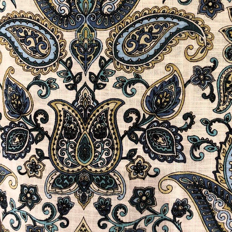 """Plutus Brands Tulip Safari Multicolor Luxury Throw Pillow 24"""" x 24"""" (PBRA2236-2424-DP)"""