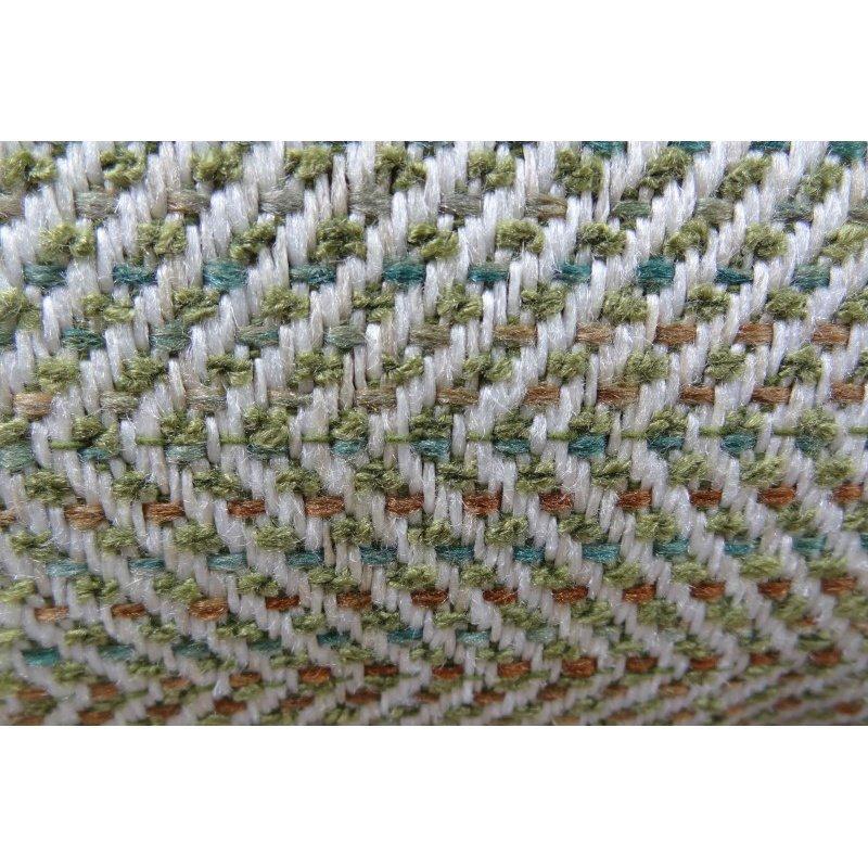 "Plutus Brands Upland Light Green and Ivory Handmade Luxury Pillow 26"" x 26"" (PBRAZ356-2626-DP)"