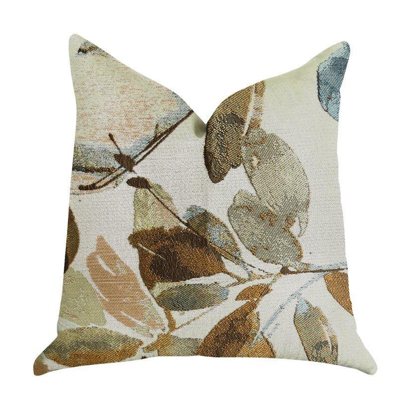 "Plutus Brands Valencia Rouge Luxury Throw Pillow 16"" x 16"" (PBRA1347-1616-DP)"