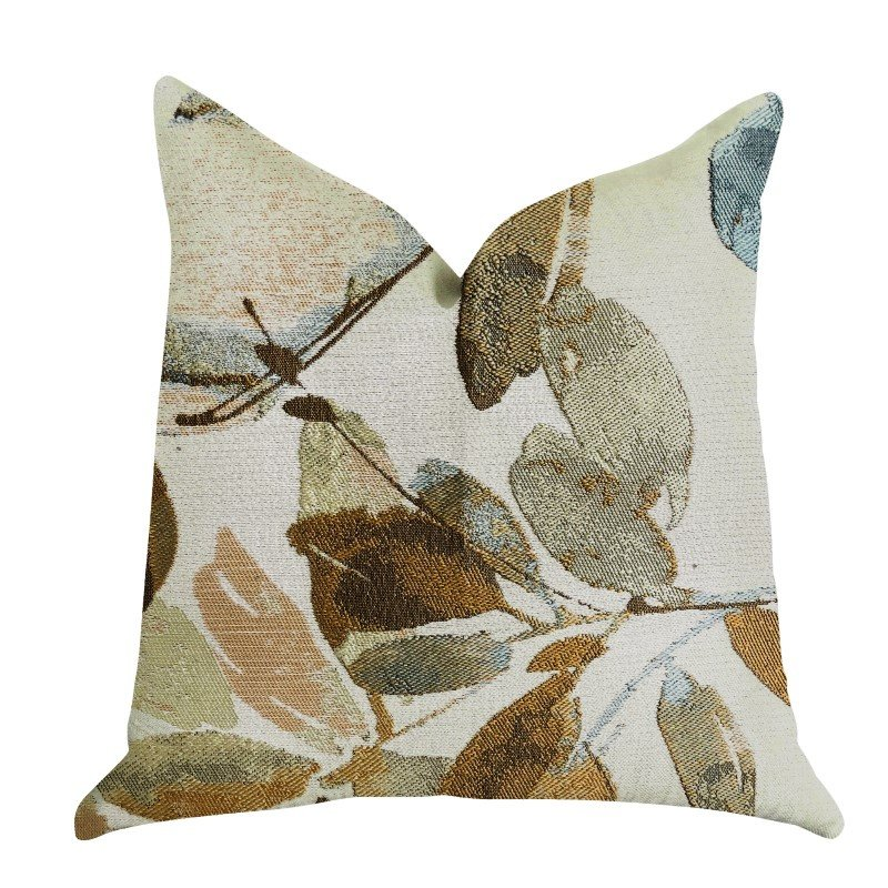 "Plutus Brands Valencia Rouge Luxury Throw Pillow 20"" x 36"" King (PBRA1347-2036-DP)"