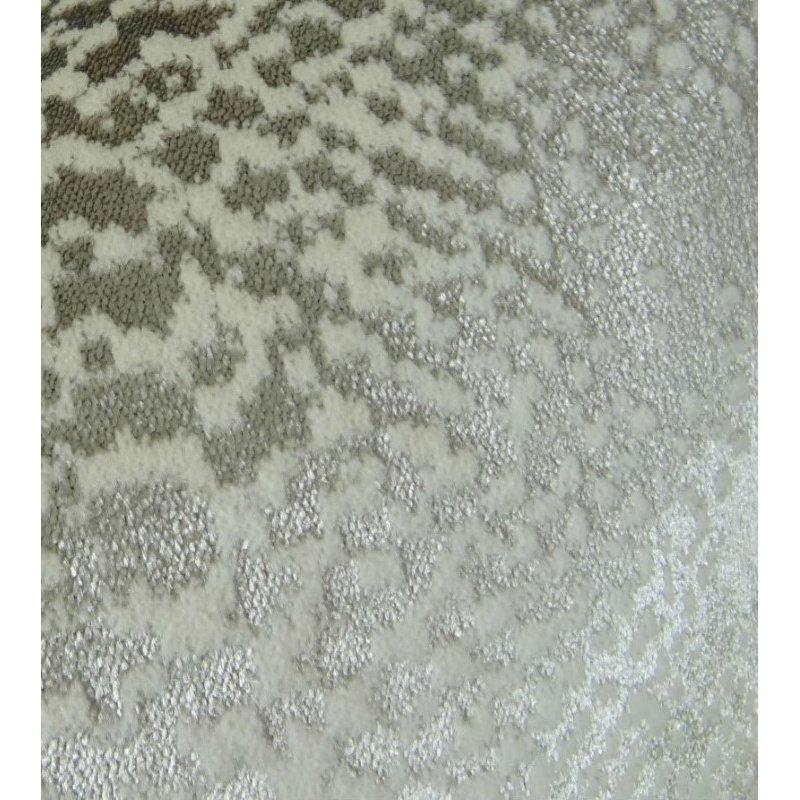 """Plutus Brands Venetian Silver Handmade Luxury Pillow 20"""" x 26"""" Standard (PBRAZ370-2026-DP)"""