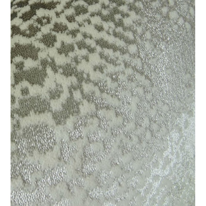 "Plutus Brands Venetian Silver Handmade Luxury Pillow 22"" x 22"" (PBRAZ370-2222-DP)"