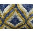 "Plutus Brands Verdana Diamond Lavender White and Yellow Handmade Luxury Pillow 26"" x 26"" (PBRAZ070-2626-DP)"