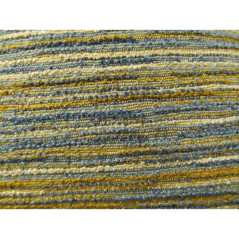 "Plutus Brands Vermont Blue and Taupe Handmade Luxury Pillow 20"" x 26"" Standard (PBRAZ079-2026-DP)"