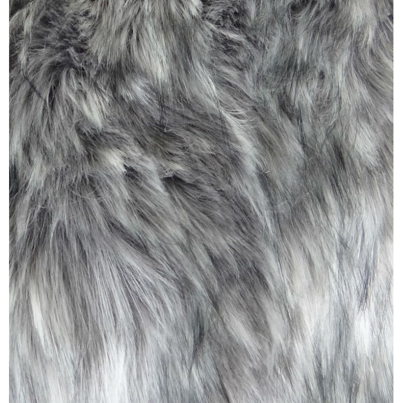 "Plutus Brands Wild Gray Wolf Gray White Handmade Luxury Pillow Double Sided 22"" x 22"" (PBRAZ473-2222-DP)"