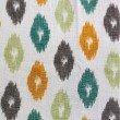 "Plutus Brands Wild Ingrid Ikat Multi Color Luxury Throw Pillow 16"" x 16"" (PBRA1363-1616-DP)"
