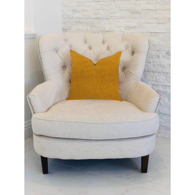 "Plutus Brands Wild Turmeric Luxury Throw Pillow in Gold Pillows 12"" x 25"" (PBRA1398-1225-DP)"