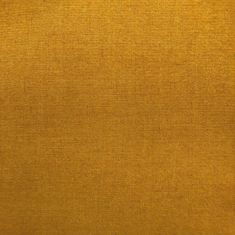 "Plutus Brands Wild Turmeric Luxury Throw Pillow in Gold Pillows 24"" x 24"" (PBRA1398-2424-DP)"
