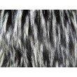 "Plutus Brands Wolf Fur Lover Black White Handmade Luxury Pillow 20"" x 36"" King (PBRAZ467-2036-DP)"