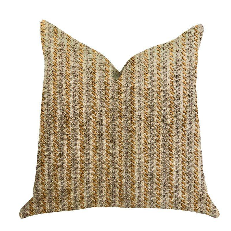 "Plutus Brands Woven Beliza Luxury Throw Pillow 20"" x 36"" King (PBRA1321-2036-DP)"