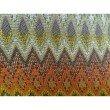 "Plutus Brands Zipline Orange Green and Blue Handmade Luxury Pillow 12"" x 20"" (PBRAZ042-1220-DP)"