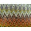 "Plutus Brands Zipline Orange Green and Blue Handmade Luxury Pillow 20"" x 20"" (PBRAZ042-2020-DP)"