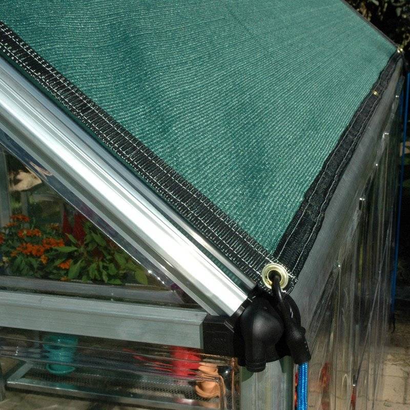 Poly-Tex 8 x 12 Shade Cloth in Green