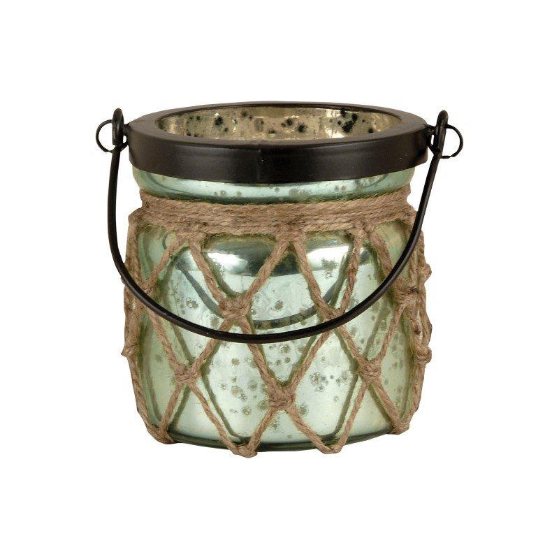 Pomeroy Candice Lantern in Antique Azure (401541)