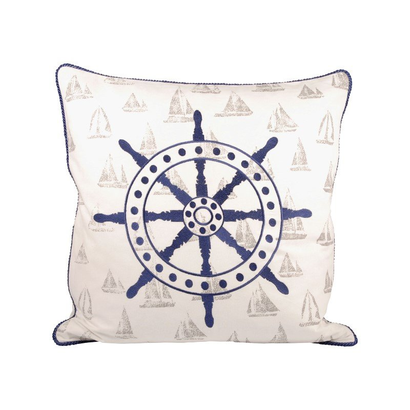 Pomeroy Captains Wheel 20x20 Pillow (904189)