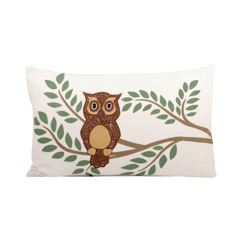 Pomeroy Owl 20x12 Pillow (904264)