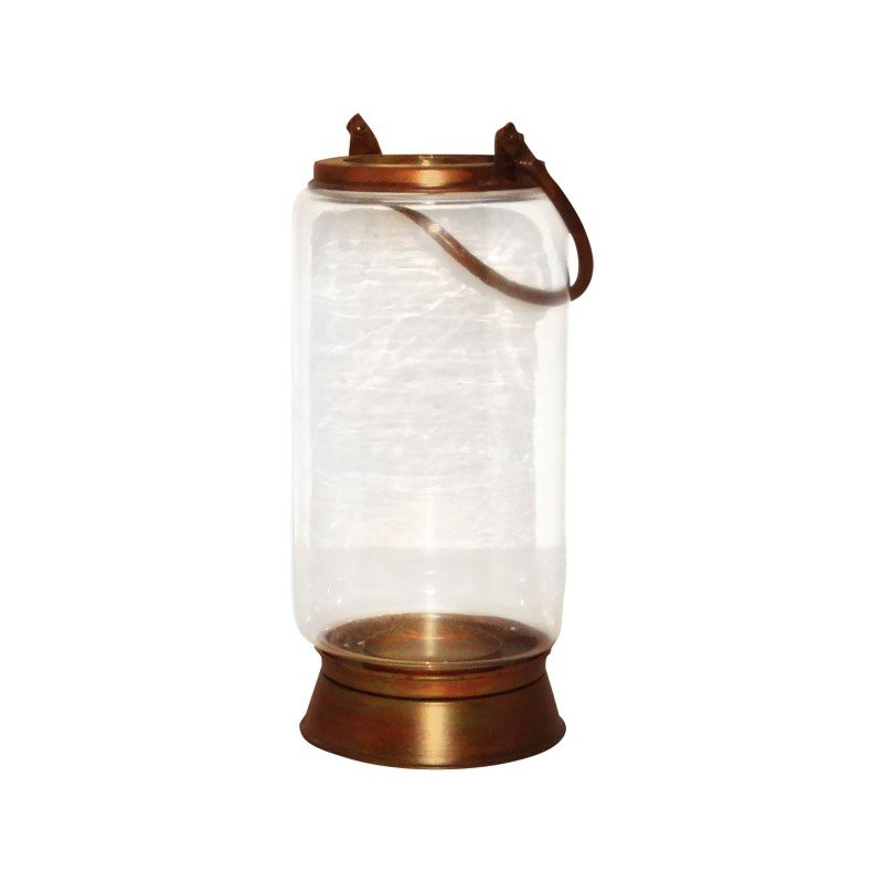 Pomeroy Taos Large Lantern in Burned Copper (401336)