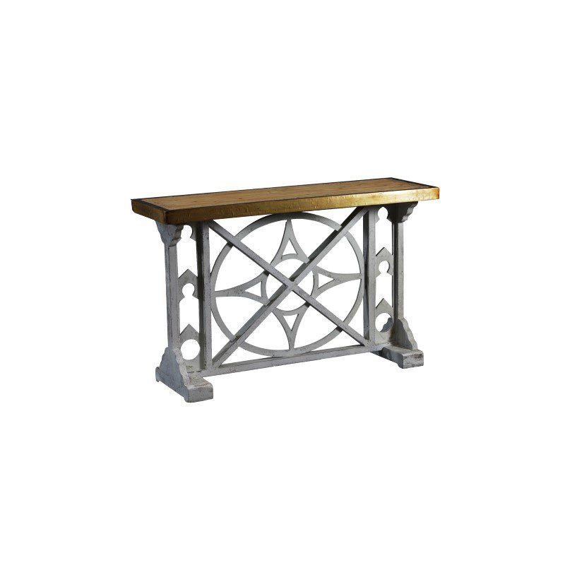 Powell Belmont Wood Console Table