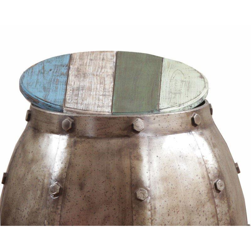 Powell Calypso Barrel Table