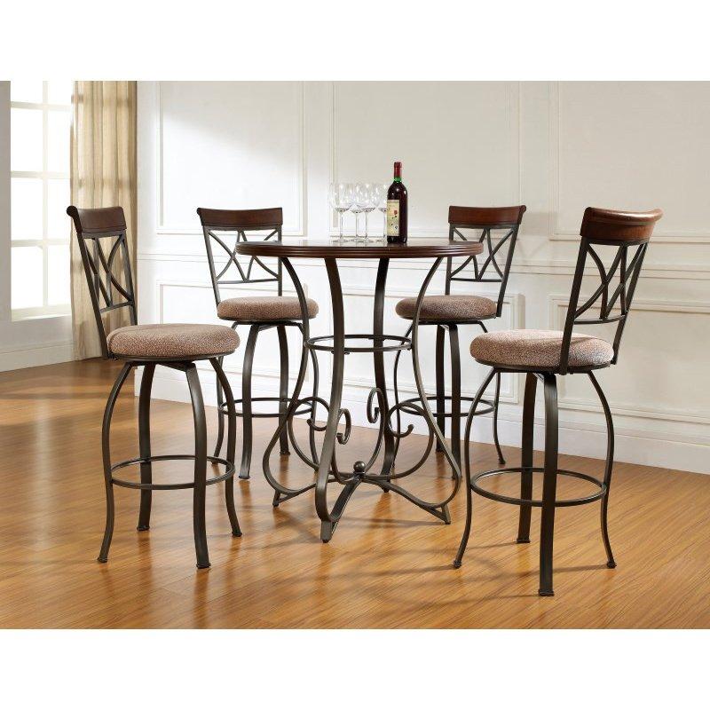 Powell Home Fashions 5 Piece Hamilton Pub Table Set (697-404M3)