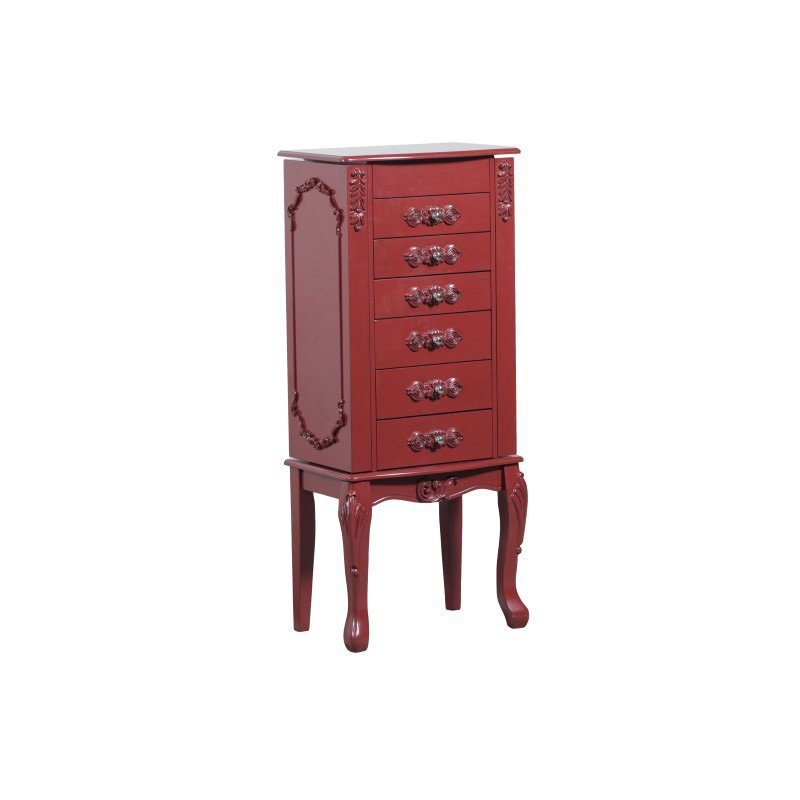 Powell Home Fashions Braelyn Jewelry Armoire (144-065JRPPO)