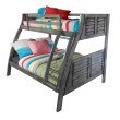 Powell Home Fashions Easton Gray Bunk Bed (16Y8185BB)