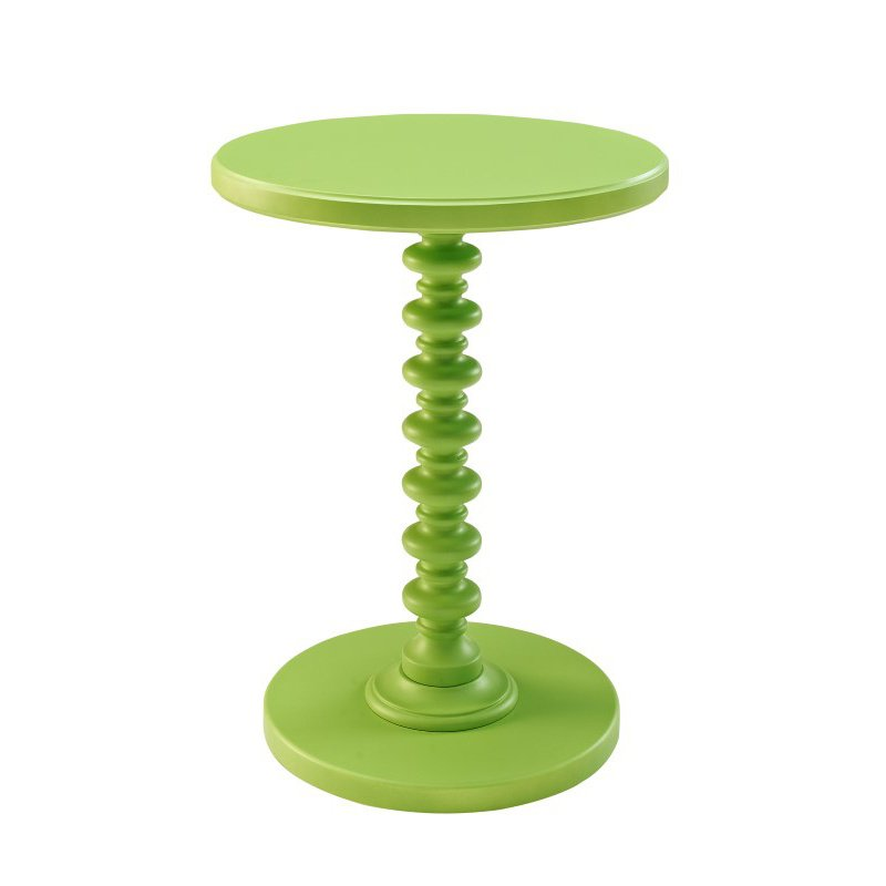 Powell Home Fashions Green Round Spindle Table (143-269)