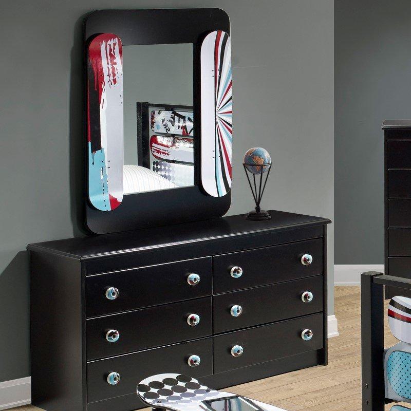 Powell Home Fashions Kickflip Dresser (16Y8184DR)