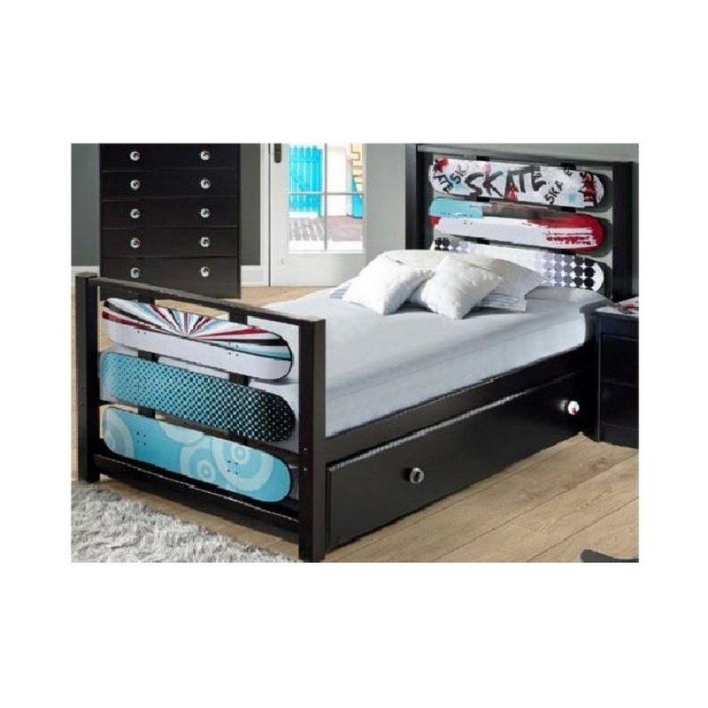 Powell Home Fashions Kickflip Full Bed (16Y8184FB)