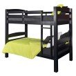 Powell Home Fashions Levi Bunk Bed in Black (D1027Y16B)