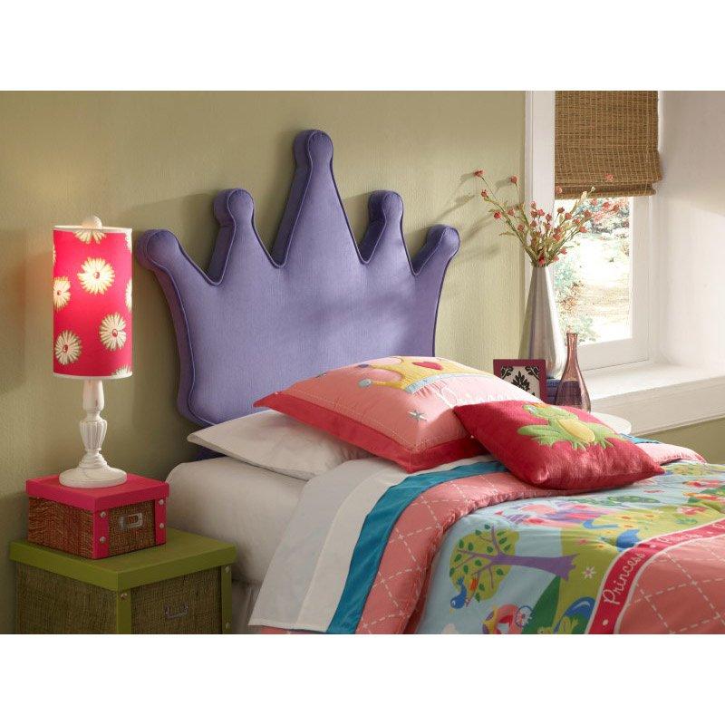 Powell Home Fashions Princess Crown Twin Size Headboard (197-039)
