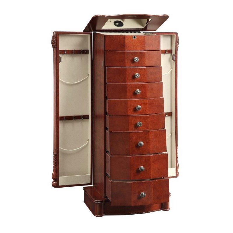 Powell Home Fashions Rayford Jewelry Armoire (15J2018)