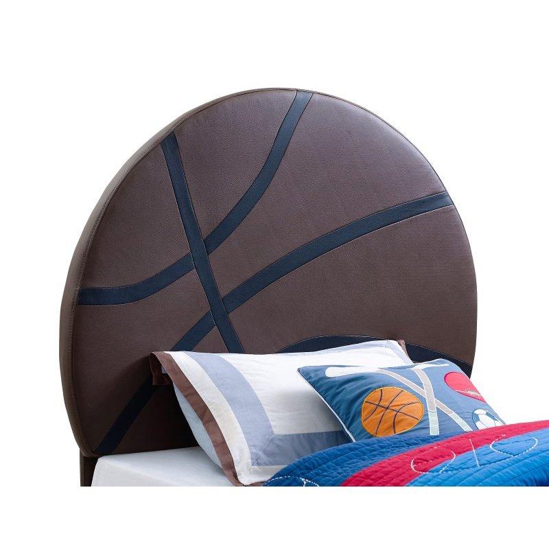 Powell Home Fashions Upholstered Basketball Twin Headboard (890-039)