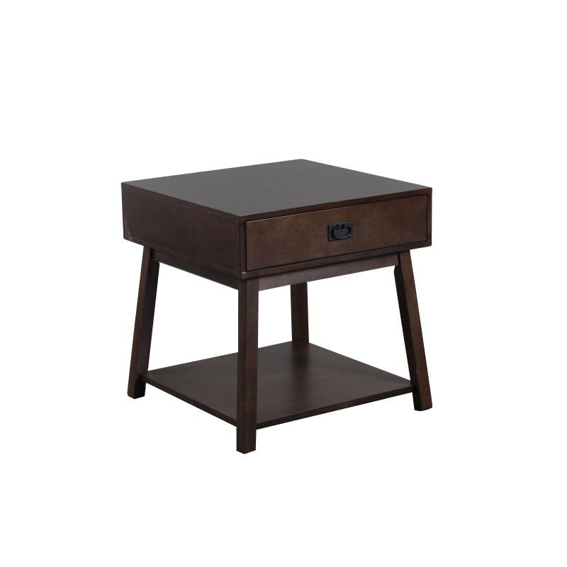 Powell Lancaster Side Table with Drawer