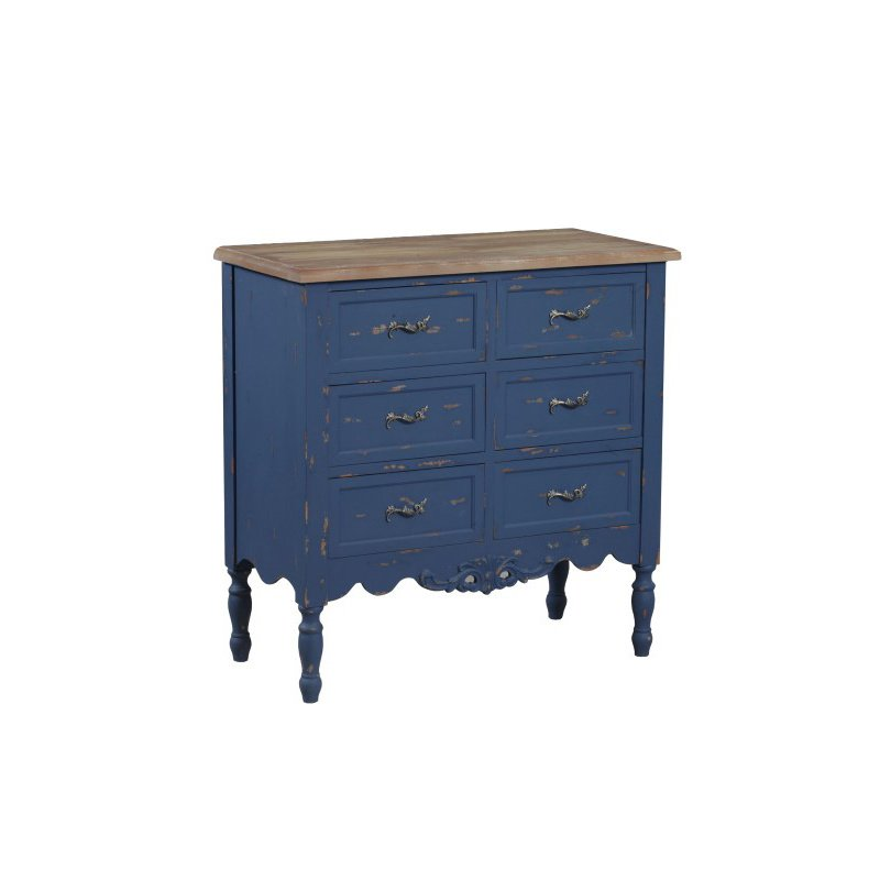 Powell Piper Blue Hall Chest