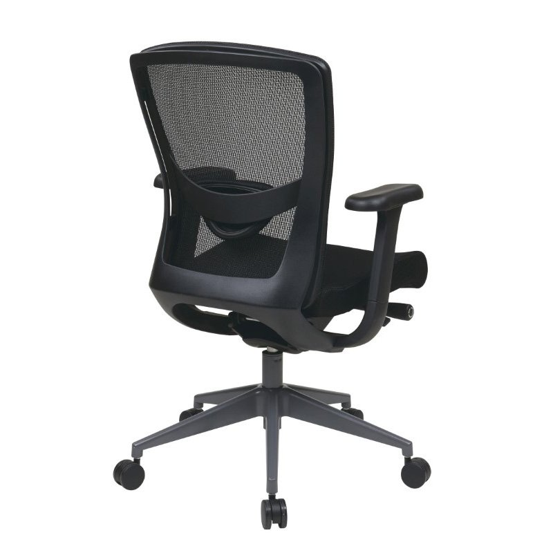 Pro-Line II Executive Black ProGrid Back Chair