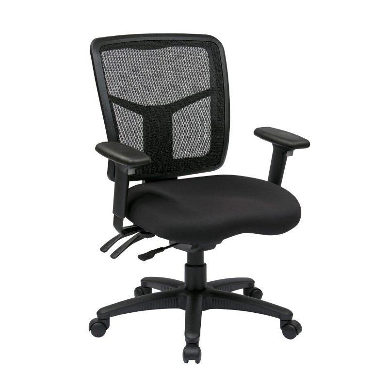 Pro-Line II ProGrid Back Mid Back Managers Chair in Coal